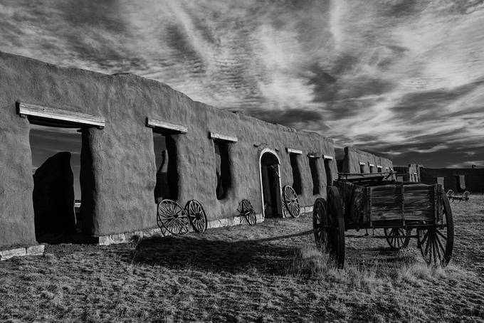 Fort Union, New Mexico by StevenWMartinPhotography