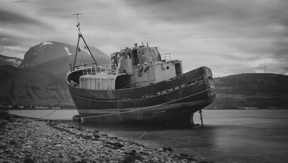 04 The #Boat. Between #Corpach and #Caol