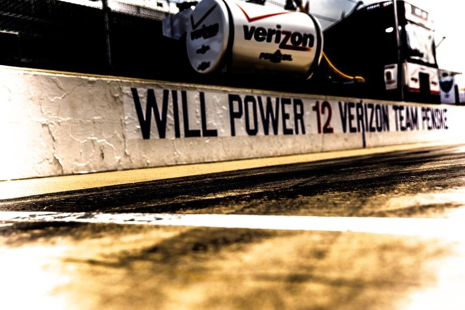 Will Power Pit Lane