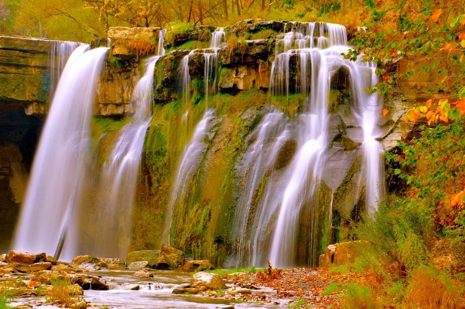 Waterfalls in lansing ny fall 2011
