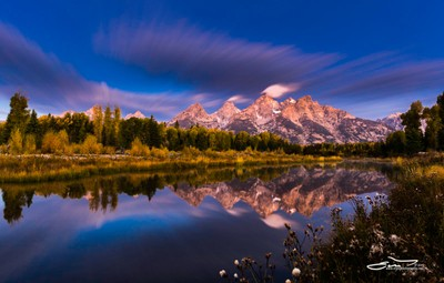 Time Stops over Tetons