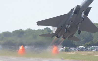 F15 take off RIAT Fairford 2006