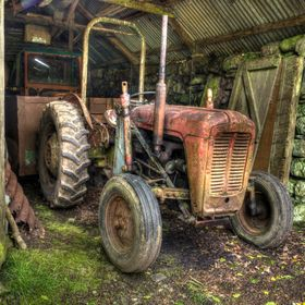 An Old Tractor!