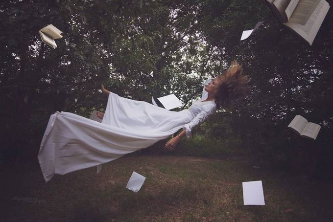 Death of a Love Story by ChrystalOlivero - Levitation Art Photo Contest