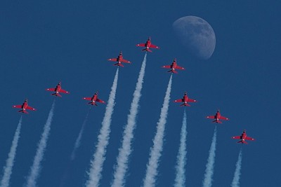 Over the Moon - Red Arrows