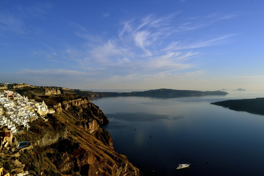 The island of Santorini is one of the most well known and popular Greek islands. You see it on co...