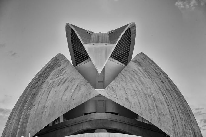 Valencia Concert Hall by pnewbery - Simple Architecture Photo Contest