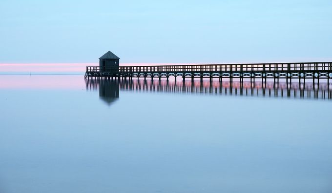 Jetty in early sunset by Threin - The Zen Moment Photo Contest