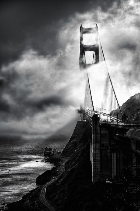 Golden Gate Bridge by KanaPhotography - Lost In The Fog Photo Contest