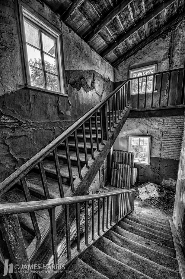 Church Stairwell in Romny, Ukraine by jamesharrisphoto - Fish Eye And Wide Angle Photo Contest