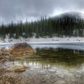 This spring I had a wonderful hike to Sandbeach Lake in Rocky Mountain National Park.  I completely isolated and a storm was rolling in.  It made...