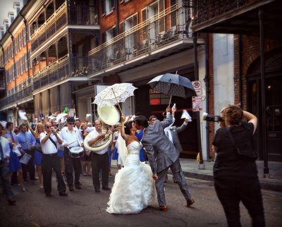 Newlyweds in NOLA