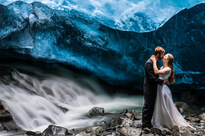 Blue Bliss - Mendenhall Glacier by Browndog1ne - Love Is In The Air Photo Contest
