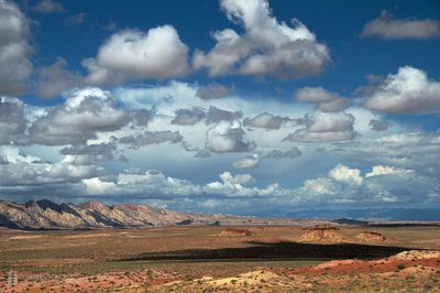 Clouds Above The San Rafael Swell