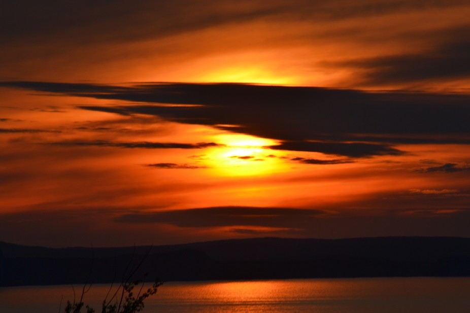 Sunset in Conception Bay South, Newfoundland canada