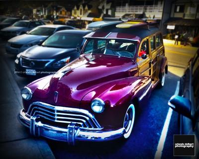 Red Oldsmobile Woody