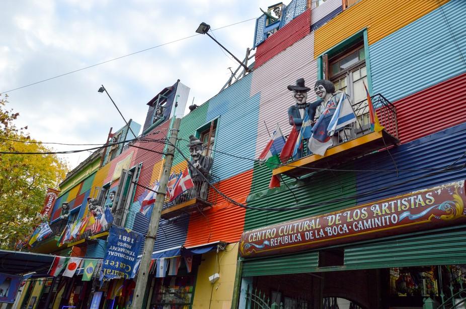 Buenos Aires La Boca - Colors and Joy