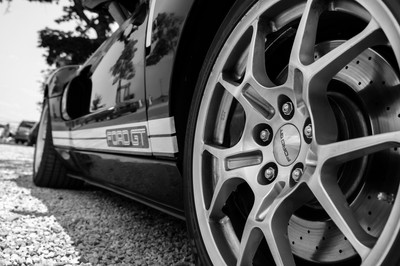 Ford GT in B&W