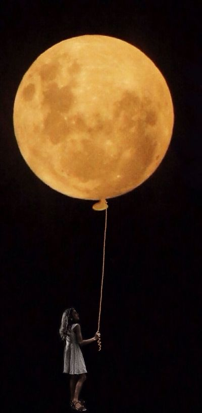Moon on A String