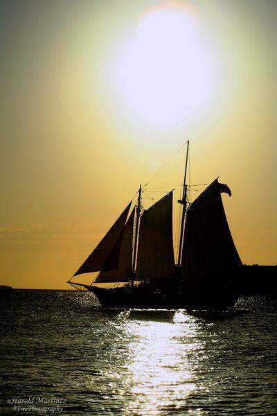 Sunset Flag Ship
