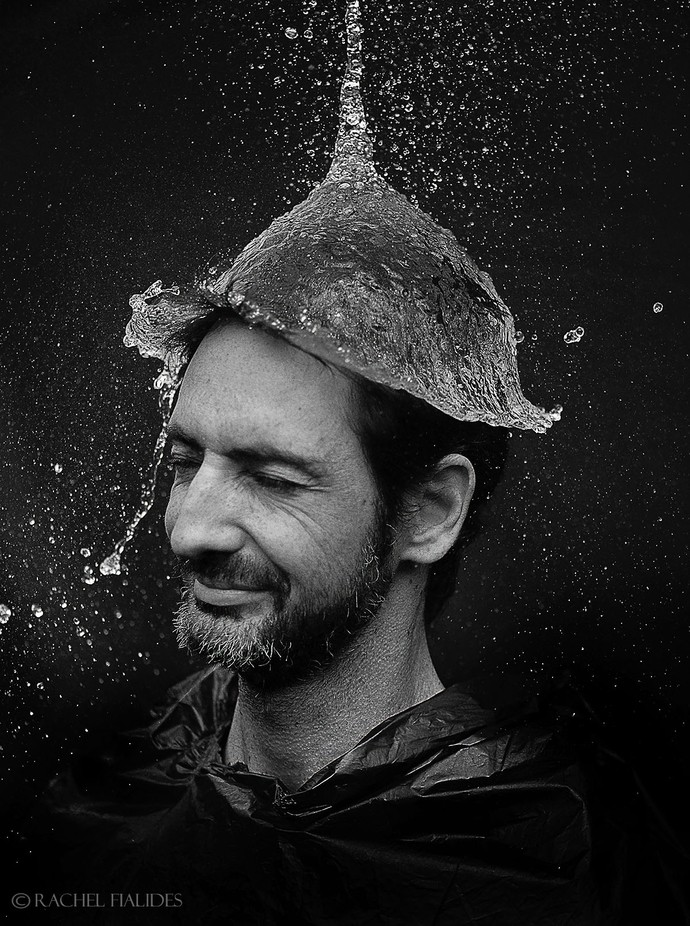 Water Hat by rachel - Male Portraits Photo Contest
