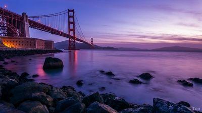 Golden Gate at Dawn