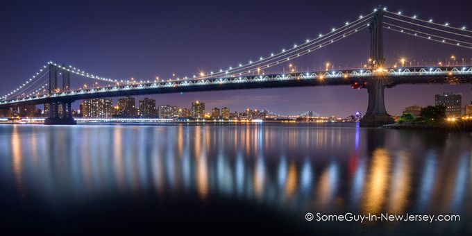 Manhattan Reflections by MRRogers - Light On Water Photo Contest
