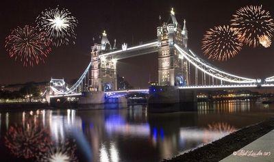 Tower Bridge Fireworks