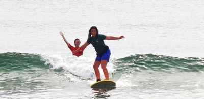 Tatum at Surf Camp