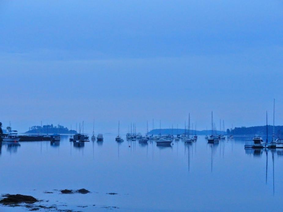 Mahone Bay Harbor Early Morning