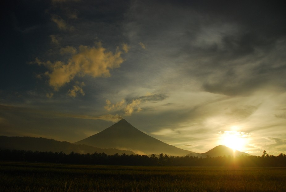 My take on our Mt. Mayon Volcano here in the Philippines. No filter