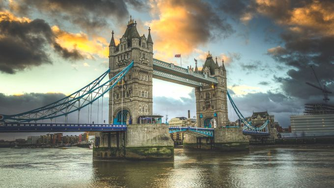 Tower Bridge by byrnephotography - HDR Photography Contest