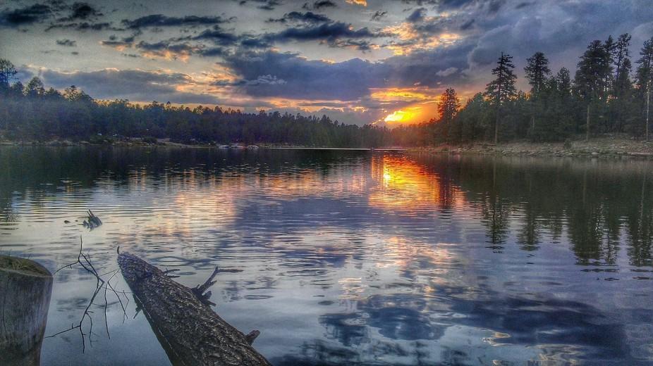 Woods Canyon Sunset