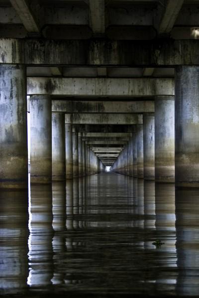 Under the Basin Bridge