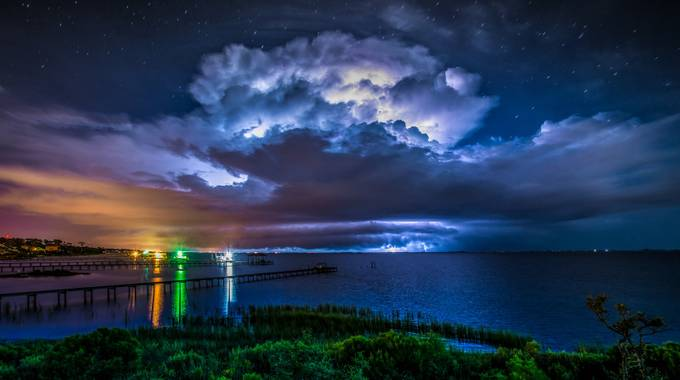 Summer Night Lightning by franklinabbott - Cloudy Nights Photo Contest