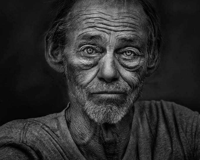Life Lines by RussElkins - The Face Of A Man Photo Contest