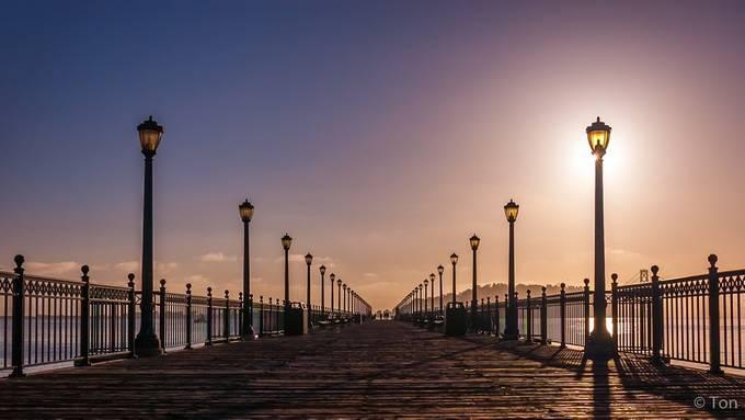 Pier 7 by PortrartCreations - Boardwalks Photo Contest