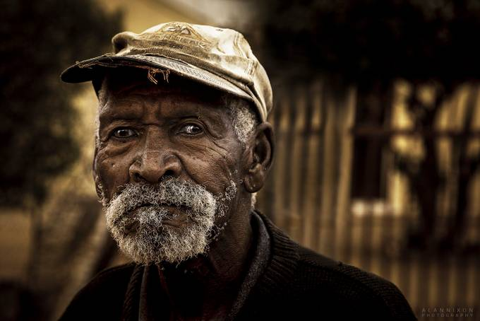 OLD MAN by Alannixon - Street Portraits Photo Contest