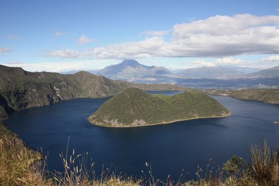 The Islands of Lake Cuicocha