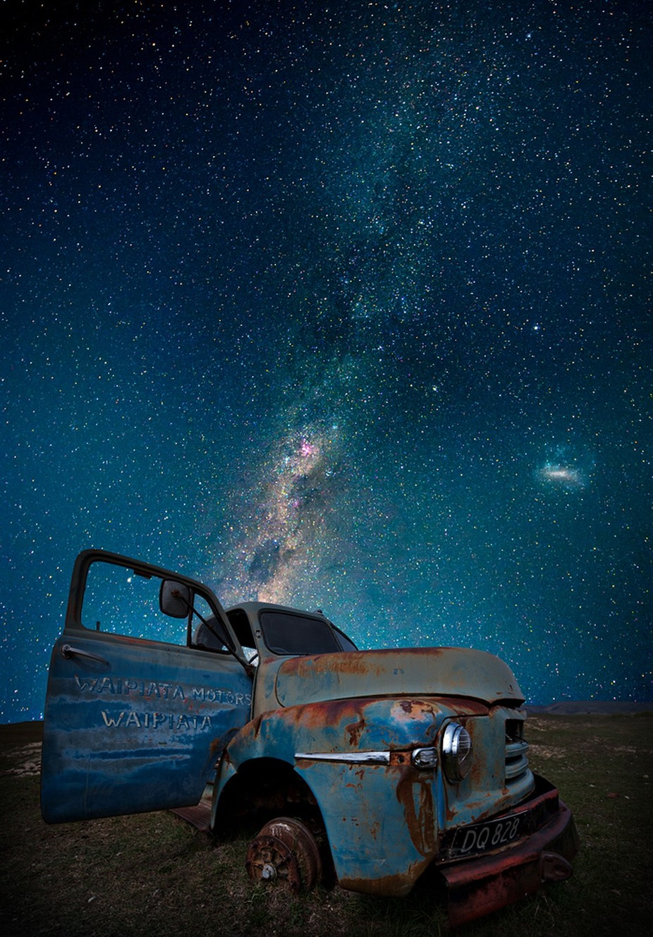 Old truck by alkim - Our World At Night Photo Contest