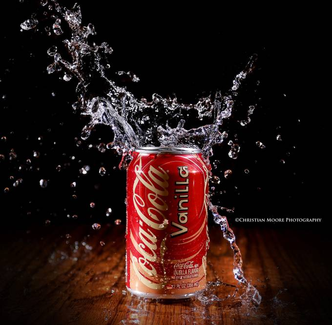 CocaCola by Christian Moore - Commercial Style Photo Contest