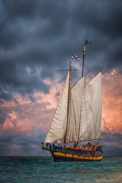 Tall Ship On The Bay