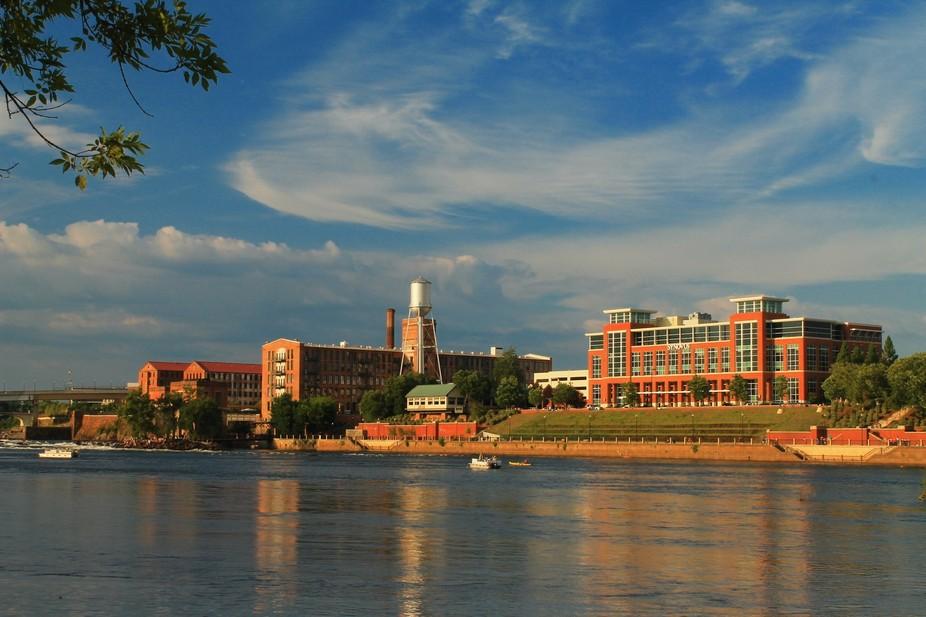Photo taken from Phenix City, Alabama River Walk.