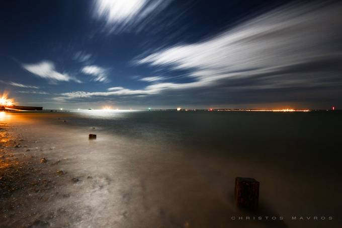 Night sky by christosmavros - Cloudy Nights Photo Contest