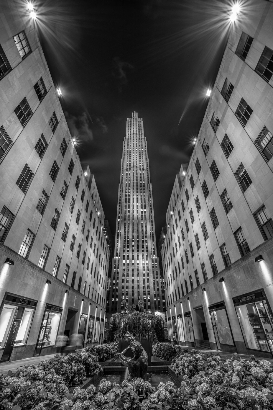 Rockefeller Center, New York, New York, USA by larrymarshall - Black And White Architecture Photo Contest