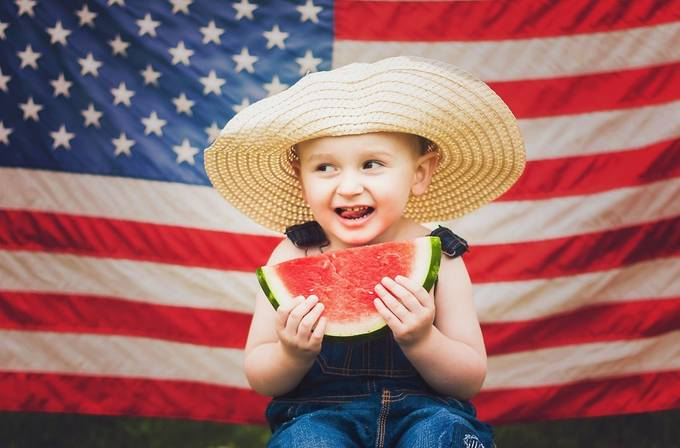 4th of July fun by Maddhatter - Flags and Banners Photo Contest