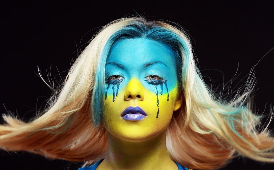 Bocheluk Alexandra_color face art