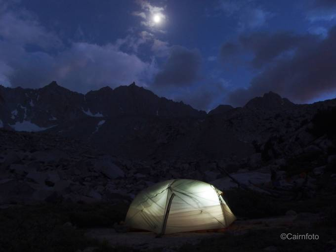 Moonlight over Mt. Goode by Cairnphoto - Outdoor Camping Photo Contest