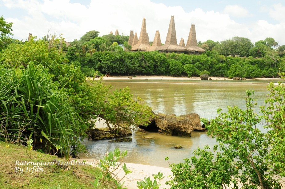 Ratenggaro traditional village is one of from many Sumba traditional village in Sumba Island,Indo...