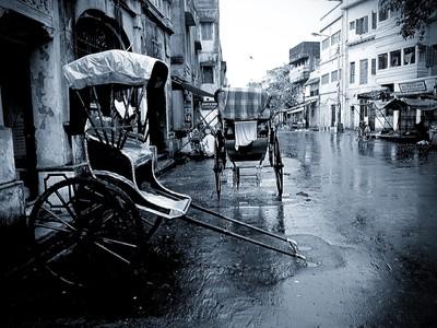 Kolkata - The Rainy Morning